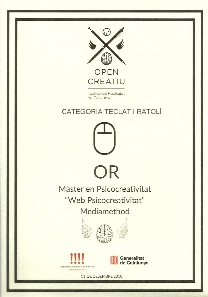 Web Màster Psicocreativitat